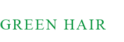 Green Hair logo