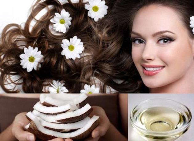Sử dụng dầu dừa giúp tóc khỏe và nhanh dài