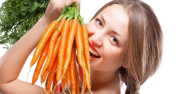 Phương pháp tự nhuộm tóc bằng cà rốt