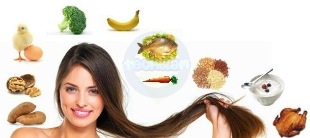 نتيجة بحث الصور عن ‪Top 5 Food elements affect negatively on your hair growth‬‏
