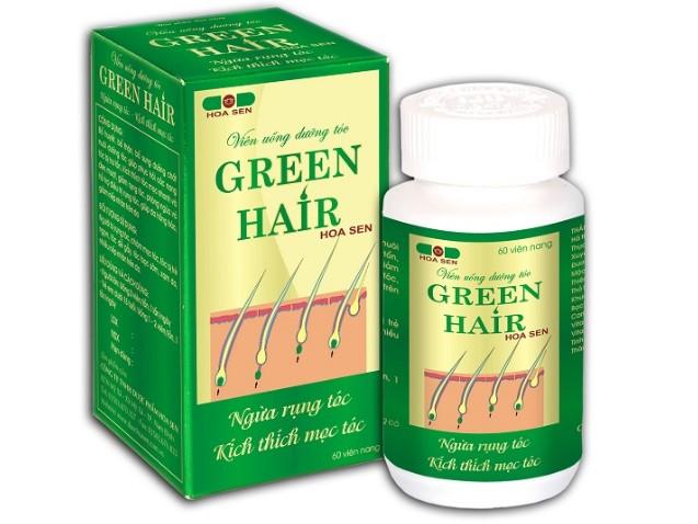 bổ sung viên uống dưỡng tóc green hair