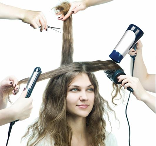 rụng tóc do tác động xấu từ bên ngoài