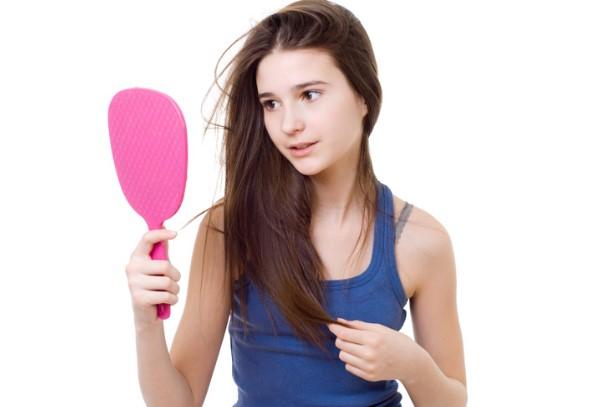 cách chữa rụng tóc ở tuổi dậy thì