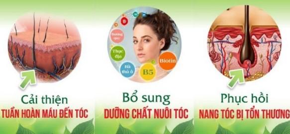 Công dụng của Viên uống dưỡng tóc Green Hair