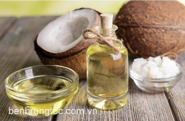 Dầu dừa giúp cải thiện mái tóc khô xơ