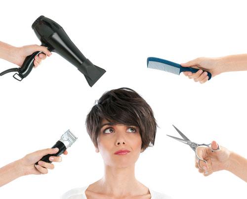 công nghệ làm đẹp gây tổn thương cho tóc