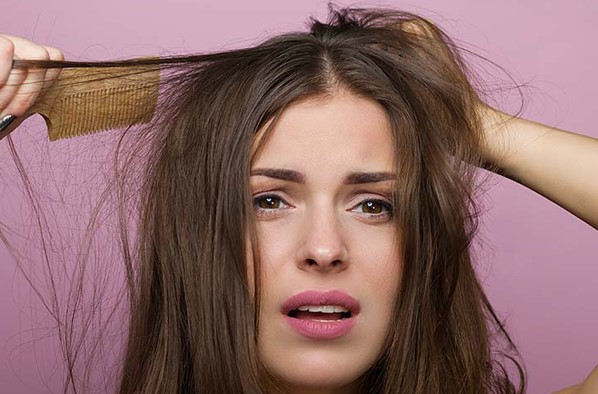 Ngứa đầu rụng tóc có thể xảy ra với bất kỳ ai