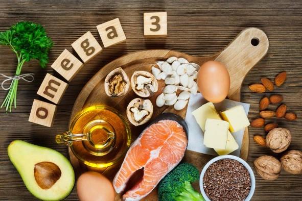 Rụng tóc cần bổ sung omega 3