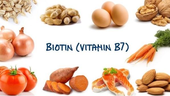 rụng tóc nên ăn thực phẩm giàu biotin