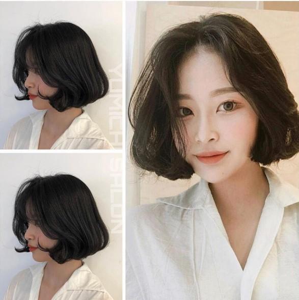 Những kiểu tóc cho khuôn mặt tròn trở nên thon gọn, thanh tú hơn