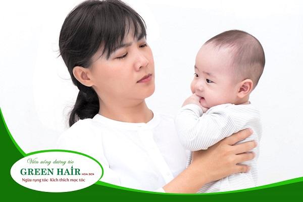 Viên uống chống rụng tóc sau sinh tốt và an toàn