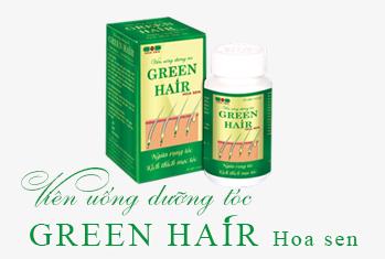 Viên uống Green Hair Hoa Sen