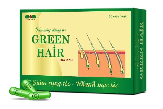 Viên uống Green Hair chữa rụng tóc