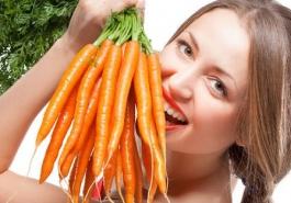 Bí quyết chế thuốc nhuộm tóc từ cà rốt