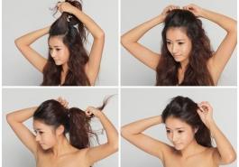 3 thủ thuật hô biến tóc xẹp thành phồng dành cho bạn gái