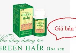 Mua Viên uống dưỡng tóc Green Hair Hoa Sen tại đâu? Giá bán