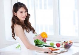 Thổi bay nỗi lo rụng tóc sau sinh bằng thực phẩm