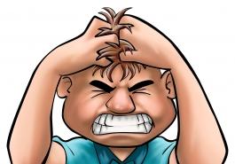 Stress kéo dài khiến hói đầu hỏi thăm