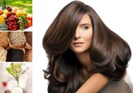 Chế độ ăn uống sinh hoạt ảnh hưởng như nào tới mái tóc của bạn?