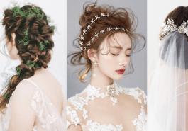 Những kiểu tóc đẹp cho cô dâu