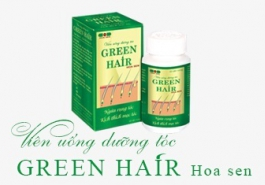Viên uống dưỡng tóc Green Hair Hoa Sen có ngừa rụng tóc hiệu quả?