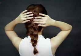 """Video - Cách """"ngụy trang"""" cho mái tóc khi chưa kịp gội đầu"""