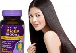 Biotin mọc tóc giá bao nhiêu?