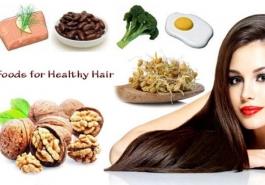 Bị rụng tóc nên ăn gì?