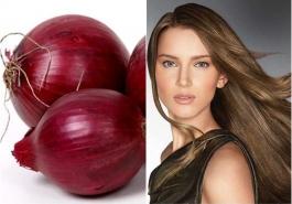 Mẹo chữa rụng tóc hiệu quả với hành tây