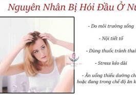 Nguyên nhân hói đầu ở phụ nữ và cách ngăn ngừa bệnh hói đầu
