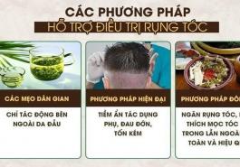 Những cách trị rụng tóc và kích thích mọc tóc hiệu quả nhất