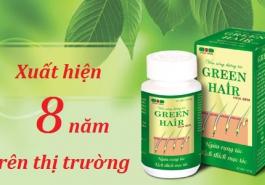 Vì sao Green Hair luôn giữ vị trí số 1 trong dòng sản phẩm chữa rụng tóc?