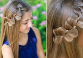 Video - Thử làm công chúa với kiểu tóc tết viền